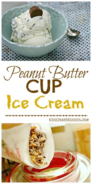 peanut butter cup ice cream recipe