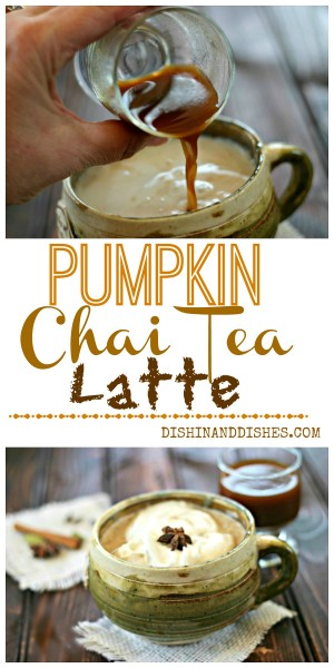 Pumpkin Chai Tea Latte