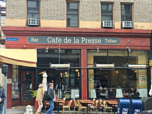 Cafe de la Presse san Francisco