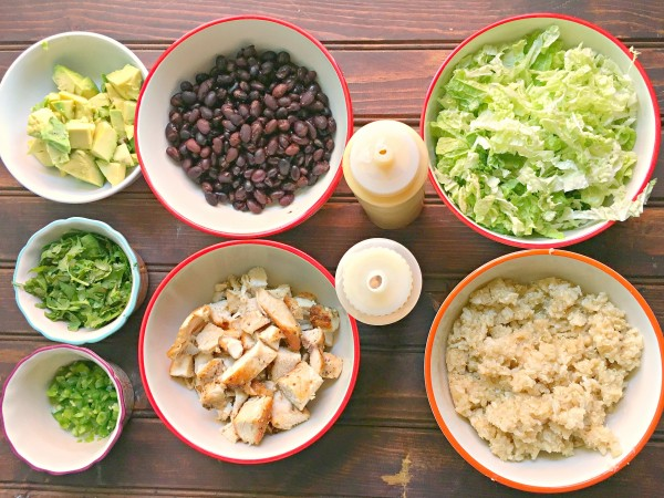 Wildas buddha bowl ingredients recipe Redding