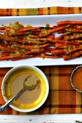Turmeric Tahini Roasted Carrots 2