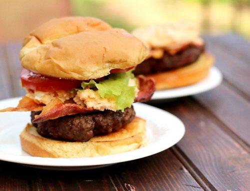 Pimento Bacon Cheeseburgers