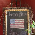 4th of July Decor Reflections