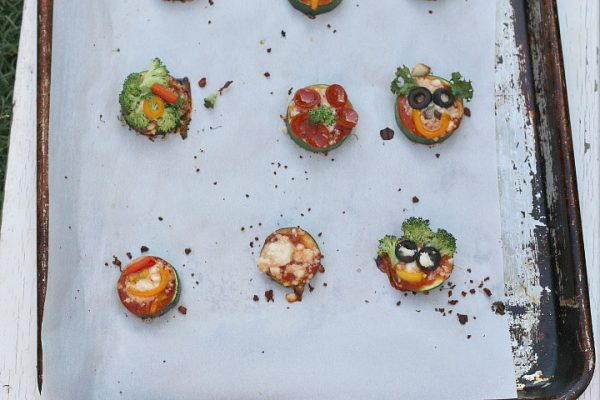 pizza zucchini vegetable bites