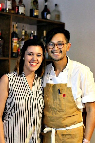 Chef Jeff Chanchaleune and Rachel Chanchaleune of Goro Ramen