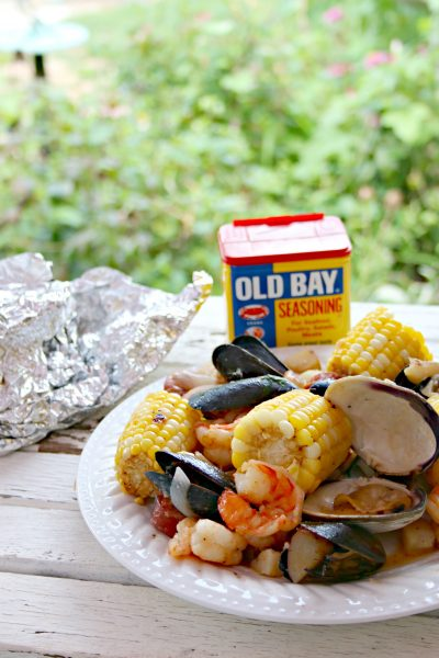 shrimp boil foil packets grill