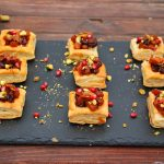 Autumn Butternut Bacon Mini Tarts