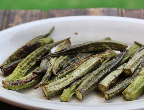 Roasted or Grilled Okra