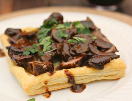 Beef Wellington Tart