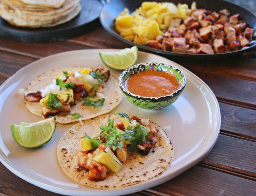 Chicken Al Pastor Tacos